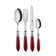 4 pieces set - Baguette - Red