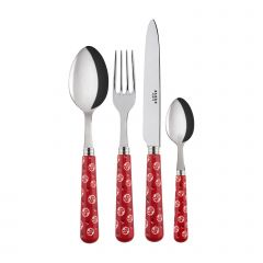 4 pieces set - Provencal - Red
