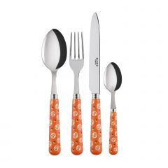 4 pieces set - Provencal - Orange
