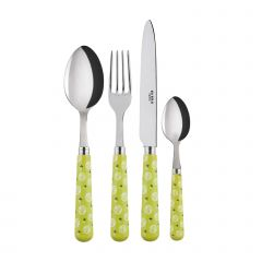 4 pieces set - Provencal - Light green