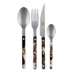 4 pieces set - Bistrot vintage dune - Black