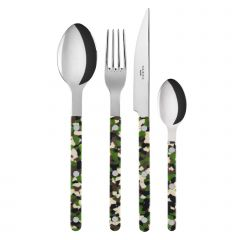 4 pieces set - Bistrot Camouflage - Green
