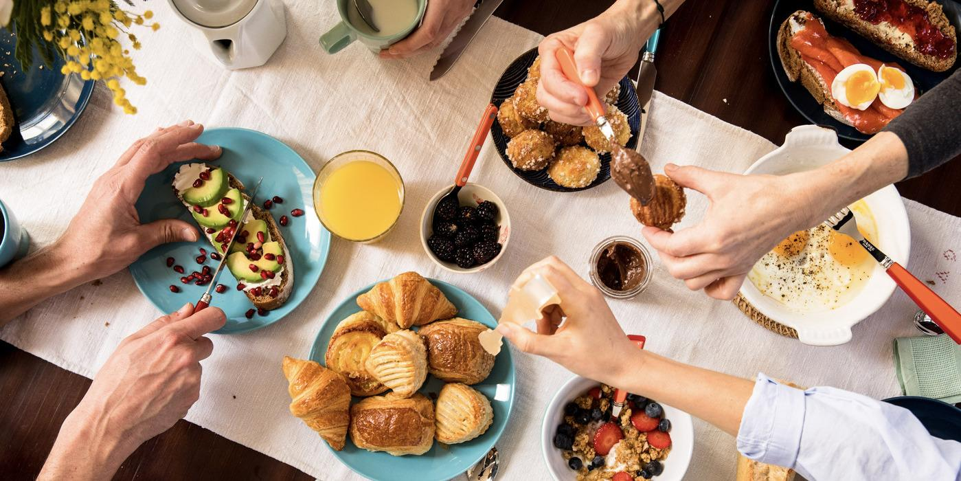 "Christmas: organise a ""morning-after"" brunch"