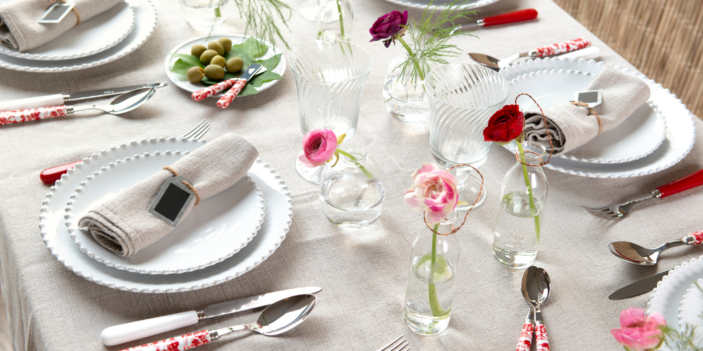 A chic country table decoration  !